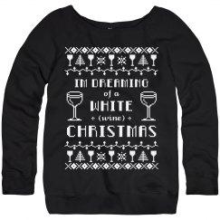 Ugly Sweater Wine Drinker