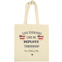 Military Wife Tote