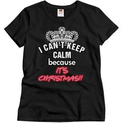 I can't keep calm