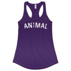 ANIMAL -purple tank