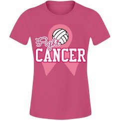 Volleyball Think Pink