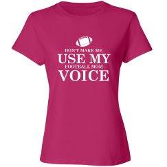 Football mom voice