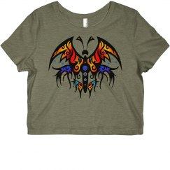 Tribal Butterfly5 rainbow