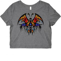 Tribal Butterfly5 rainbow