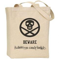 Beware Halloween Candy Inside