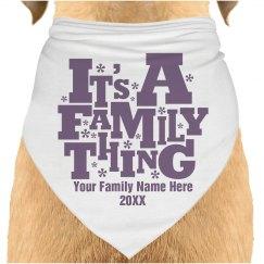 Family Reunion Dog