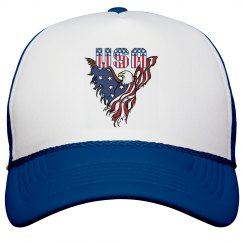 Patriotic American Eagle Hat