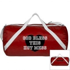 GOD BLESS HOT MESS BAG