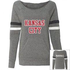 SSP FIT Maniac Sports Eco-Fleece Wideneck Sweatshirt