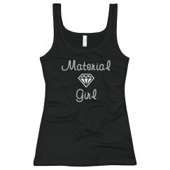 Material Girl Rhinestone