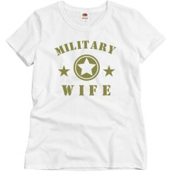 Simple Military Wife With Stars