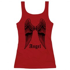 Angel Wing Back Tank