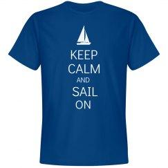 Keep calm sail on