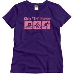 Girls Tri Harder