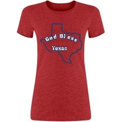 God Bless Texas - Womens