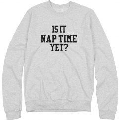 Is it naptime yet?