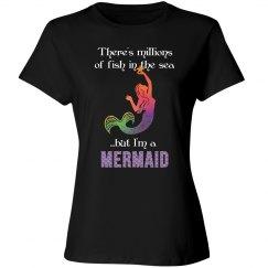 Mermaid - millions of fish