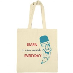 Custom Teacher Tote Bag