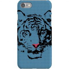 Blue Tiger iPhone Case