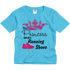 Princess Wears Running Shoes