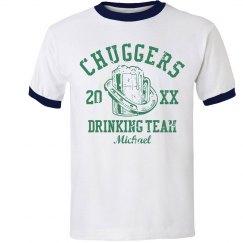 Custom Name Irish Drinking Team