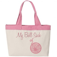 My Ball Sack Tote Bag