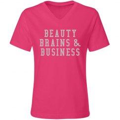 Beauty Brains & Business - Pink