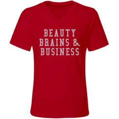 Beauty Brains & Business - RED