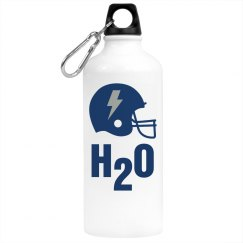 Football H20 Bottle