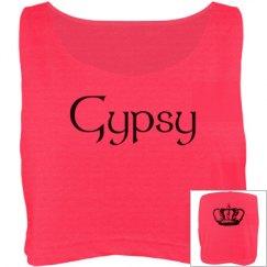 Pretty crop top for  a GYPSY!