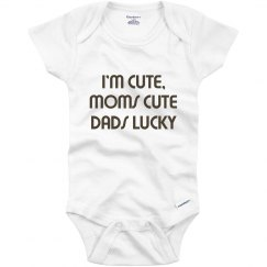 dads just luck not cute