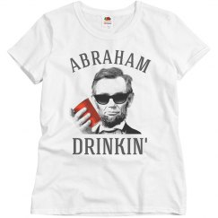 abraham lincoln drinkin'
