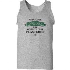 World's best Plasterer Shirt