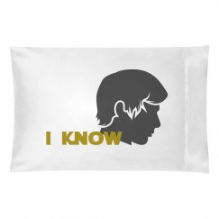Han Solo I Know *galactic love* Couples Pillowcases