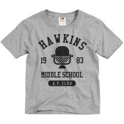 Hawkins AV Club Kids Costume
