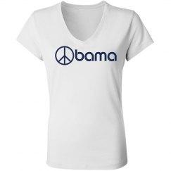Obama Peace Sign
