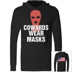 Cowards Wear Masks USA