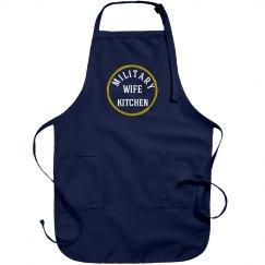 Military wife apron