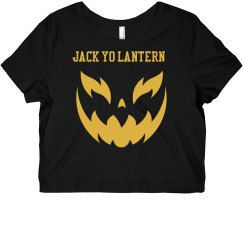 Jack Yo Lantern Crop Top