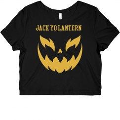 Jack Yo Lantern Crop Top