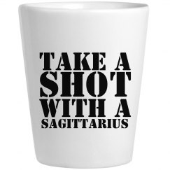 Take A Shot With A Sagittarius