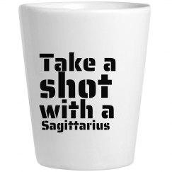 Take A Shot With A Sagittarius