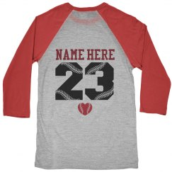 Custom Baseball or Softball Mom Jersey Shirts
