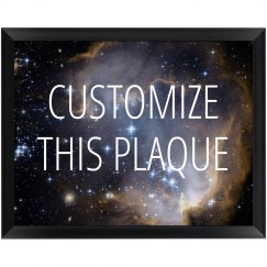 Custom Galaxy Plaque For Awards