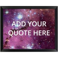 Custom Galaxy Plaque Add Quote