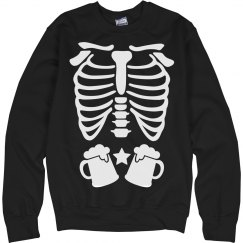 Skeleton Beer Belly