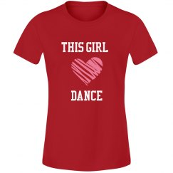 Girl loves dance