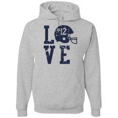 Football Love Hoodie
