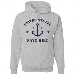 US Navy Wife Hoodie