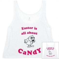 easter is all about candy